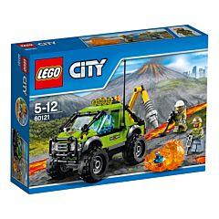 Конструктор Lego City 60121 Город Грузовик Исследователей Вулканов