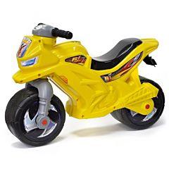 Беговел-мотоцикл RT ОР501 Racer RZ 1 (желтый)