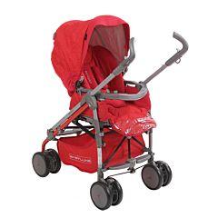 Коляска-трость Babylux Carita 205S (8 колес) (ruby)