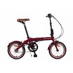 Велосипед складной Shulz Hopper 3 (2017) темно-красный
