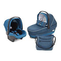 Комплект для коляски Peg Perego Navetta XL Saxony Blue (синий)