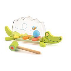 Игрушка-забивалка Djeco Крокодильчик