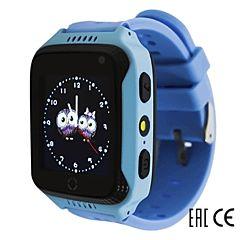 Детские часы с GPS-трекером SmartBabyWatch G100 (голубые)