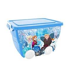 Корзина для игрушек IDEA (М-Пластика) Disney (Голубой)