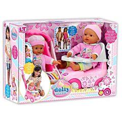 Кукла Loko My Dolly Sucette с каталкой