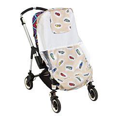 Солнцезащитный тент для коляски Mammie (Машинки)