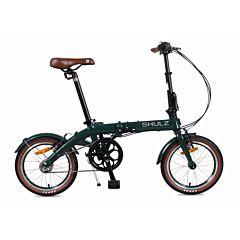 Велосипед складной Shulz Hopper 3 (2017) темно-зеленый