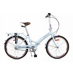 Велосипед складной Shulz Krabi Coaster (2017) голубой