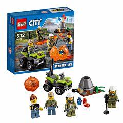 Конструктор Lego City 60120 Город Набор для начинающих: Исследователи Вулканов
