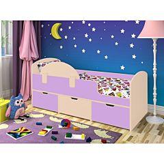 Кровать детская Ярофф Малыш Мини (дуб молочный/ирис)