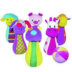 Набор боулинга Biba Toys Счастливая ферма