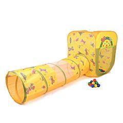 Детская палатка Bony Квадрат бабочки с шарами