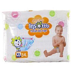 Подгузники Insoftb Premium Ultra-soft XL (12-20) 34 шт.