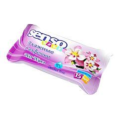 Влажные салфетки Senso Baby 15 шт (фиолетовый)