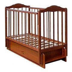 Кроватка детская Briciola 11 с поперечным маятником (орех)