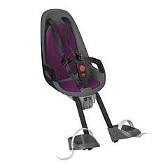 Велокресло на руль Hamax Caress Observer до 15 кг (Серый/Фиолетовый)