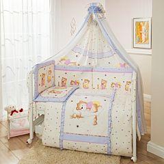 Комплект постельного белья Perina Ника 105х170см (7 предметов) (лиловый)