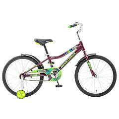"""Детский велосипед Novatrack Cron 20"""" (2016) бордовый"""