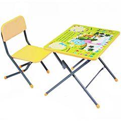 Комплект детской мебели Фея Досуг 101 (Динозаврики)