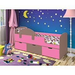 Кровать детская Ярофф Малыш Мини (бодего темный/розовый)