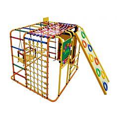 Детский спортивный комплекс Формула Здоровья Кубик У Плюс (оранжевый)