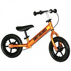Беговел FunKids Swift Ballance облегченный с ПВХ колесами (оранжевый)