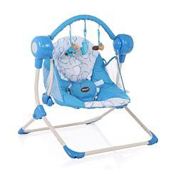 Электрокачели Baby Care Balancelle с пультом ДУ (Blue)