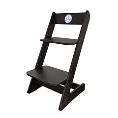 Растущий стул Бемби с лакокрасочным покрытием (черный)