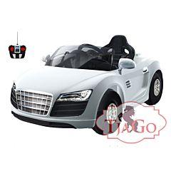 Электромобиль TjaGo R8 100KD надув с пультом управления (белый)