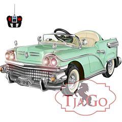 Электромобиль TjaGo 8220 с пультом управления (зеленый)