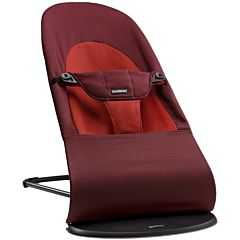 Кресло-шезлонг BabyBjorn Balance Soft (Терракотовый с оранжевым)