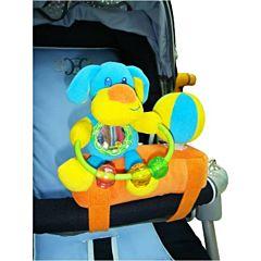 Развивающая игрушка на бампер коляски I-Baby Друзья Собачка