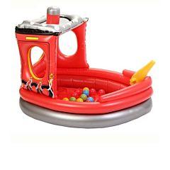 Сухой надувной бассейн Upright Пожарный катер + 50 шаров