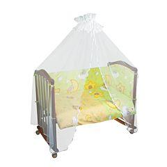 Бампер для кроватки Сонный Гномик Сыроежкины Сны (салатовый)