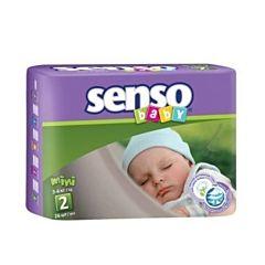 Подгузники Senso Baby Mini (3-6 кг) 26 шт
