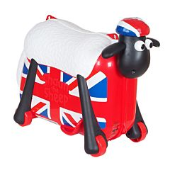 Каталка-чемодан Saipo Овечка (британский флаг)