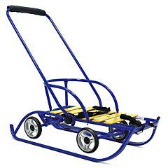 Санимобиль на колесах Hubster Премиум (синий)