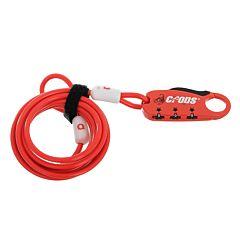 Велозамок Crops SPD 07 - Q4 (красный)