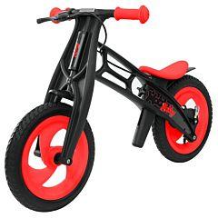 Беговел Hobby Bike FLY B (шины - волна) (красный/черный) ДИСКОНТ