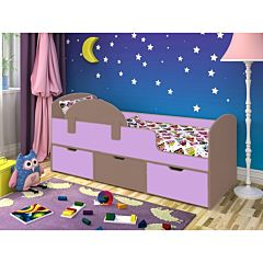 Кровать детская Ярофф Малыш Мини (бодего темный/ирис)