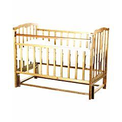 Кроватка детская Агат Золушка-5 (продольный маятник) (Светлый)