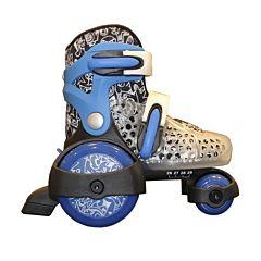 Роликовые коньки Explore Kinder Quad S (голубые)