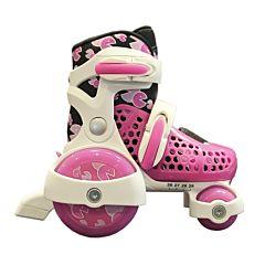 Роликовые коньки Explore Kinder Quad S (розовые)