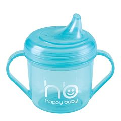 Поильник Happy Baby Drink Up 170 мл. (Голубой)