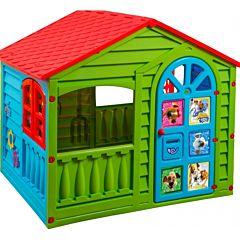 Игровой домик Palplay 362 Белка и Стрелка (Зеленый)