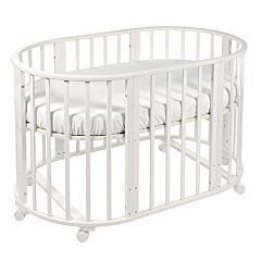 Кроватка-трансформер Sweet Baby Delizia без маятника (белый)