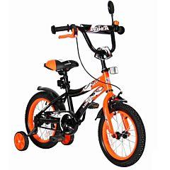 """Детский велосипед Velolider Shark 14"""" Оранжевый/Черный"""