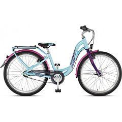 """Подростковый велосипед Puky Skyride 24-7 Alu Active light 24"""" (turquoise/lilac)"""