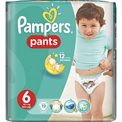 Подгузники-трусики Pampers Pants Extra Large (от 16 кг) 19 шт