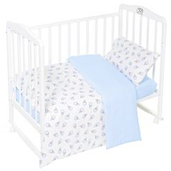 Комплект постельного белья Sweet Baby Gelato Blu (3 предмета, бязь)